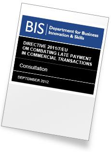 Late Payment Legislation Consultation